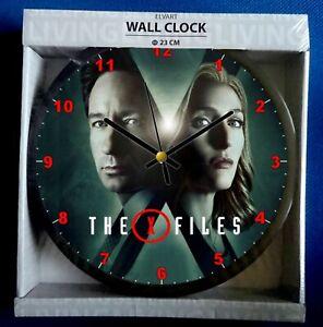 X-files Wall Clock