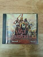 Age of Empires Macintosh Apple Game original Macsoft CD