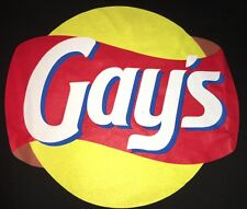 Gays Lays Chips Joke Funny Shirt Bi Queer Gay Lesbian Pride M Medium