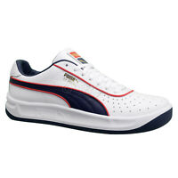 PUMA GV SPECIAL Mens Casual Leather Tennis Shoes, White Navy Blue Red, Pick Size
