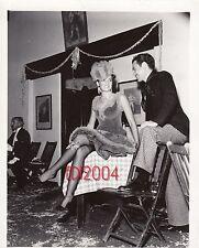 "GENE TIERNEY & OLEG CASSINI Vintage Original Photo ""JACK ALBIN"" Rare Sexy Legs"