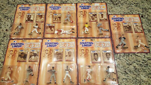 1989 Starting Lineup Baseball Greats Lot Of 7 In Unopened Boxes!