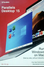 Parallels Desktop 15 Mac Software 1-Year Subscription  - NEW Retail Activation