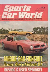 Sports Car World 1974 March Falcon GT