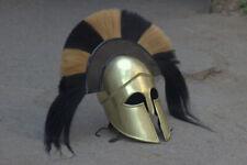 Medieval Warrior Greek Knight Corinthian Helmet Steel Medieval Helmet