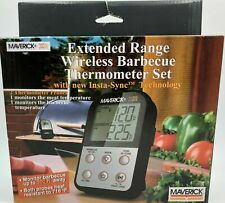 Maverick Wireless Bbq Meat Thermometer Up to 500 Ft 011502111309