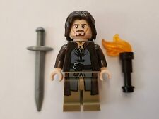 NEW Lego Aragorn minifigure LOTR Lord Of The Rings Hobbit Minifig 9472 9474 king