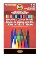 Koh-I-Noor Progresso Woodless Colored 12-Pencil Set,