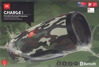 JBL Charge 3 Camouflage - Bluetooth Lautsprecher / Portable Speaker - Neu & OVP