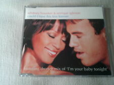 WHITNEY HOUSTON / ENRIQUE IGLESIAS - COULD I HAVE THIS KISS FOREVER - CD SINGLE