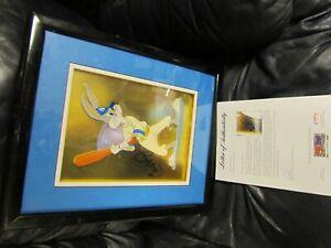 Cal Ripken Jr Autographed Buggs Bunny Lithograph