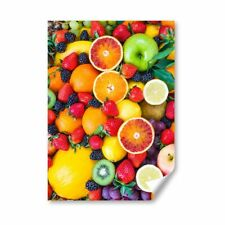 A4 - Fresh Healthy Fruits Smoothie Drink Poster 21X29.7cm280gsm #16068