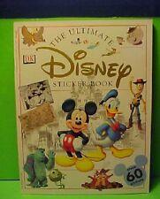 The Disney Ultimate sticker book  stamp unused