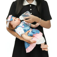 "22"" Realistic Reborn Baby Dolls Full Body Vinyl Silicone Girl Doll Newborn Gifts"