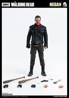 The Walking Dead Negan Jeffrey Dean Morgan Action Figure 1/6 Threezero Sideshow