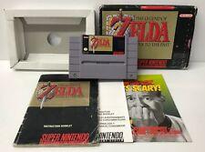 The Legend of Zelda: A Link to the Past (Super Nintendo, 1992) SNES Game