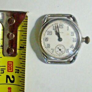 1919 Elgin Wristwatch, Running