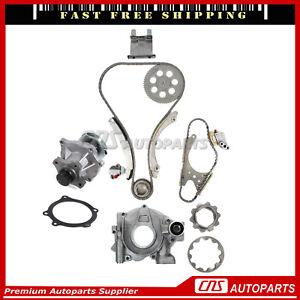 Timing Chain Water, Oil pump For 02-07 Chevrolet GMC Hummer Isuzu 2.8L 3.5L 4.2L