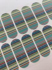 jamberry nail wrap traveling stripes
