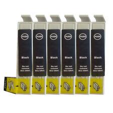 6 Inchiostri Nero Per R200 R220 R300 R300M R320 R340 RX500 RX600 RX620 T481