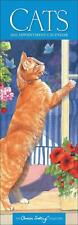 Cats By Chrissie Snelling 2020 Official Slim Wall Calendar