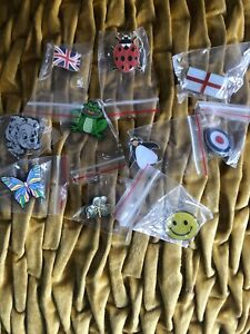 Job Lot of 50 Pin Badges. Collection of Badges
