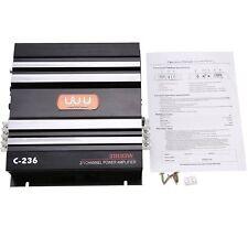3800 Watt 2 Channel Car Amplifier Power Audio Stereo Bass Amplifier Amp 4Ohm New