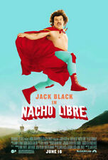 NACHO LIBRE (2006) ORIGINAL MOVIE POSTER  -  ROLLED  -  DOUBLE-SIDED