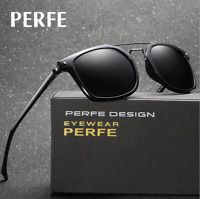 Men TR90 Outdoor Polarized Sunglasses Driving Riding Sport Square Glasses New