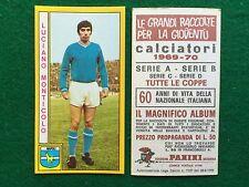CALCIATORI 1969-70 69-1970 NAPOLI MONTICOLO , Figurina Panini (NEW)