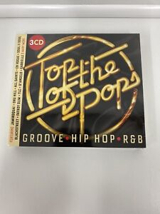 Top Of The Pops - Groove-Hip Hop-R&B  Digipack 3 CD Album-New and Sealed