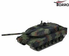 RC Panzer Leopard 2A6 Heng Long TORRO-Edition Pro Metallketten 1:16 RTR 2.4 GHz