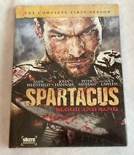Spartacus: Blood and Sand The Complete First Season DVD 2010 4-Disc Set