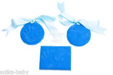 Blue Soft Clay Dough Baby Boy Hand Footprint Kit Imprints Set Modelling Prints