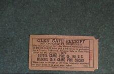New listing 1978 Watkins Glen ticket gate pass United States Grand Prix Formula 1 F1