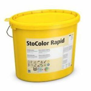 Sto Color Rapid 3 Eimer -Weiß-15Liter-Wandfarbe,Profiqualität,Innendispersion