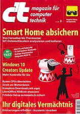C 't revista, cuaderno 8/2017 del 1.4.2017: Smart Home cubran +++ como nuevo +++