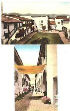 CA - SANTA BARBARA El Paseo, De La Guerra Studios- (1930-1944) - 2 Vintage Views