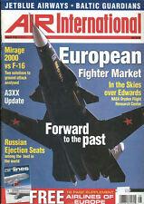 AIR INTERNATIONAL V59 N2 RUSSIAN EJECTION SEATS / POLISH NAVAL AVIATION / MIRAGE