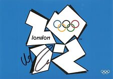 Urszula Radwanska Poland Tennis 5x7 2012 Olympic PHOTO Signed Auto