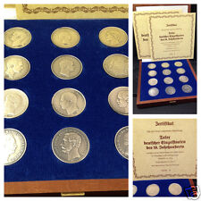 Taler deutscher Einzelstaaten Silbermedaillen Medaille 1000er Silber Schatulle