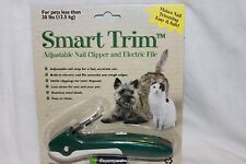 Smart Trim Adjustable Nail Clipper and Electric File For Pets