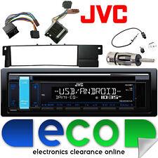 BMW 3 Series E46 1998-2006 JVC CD MP3 USB Aux Ipod Car Radio Stereo Fitting Kit