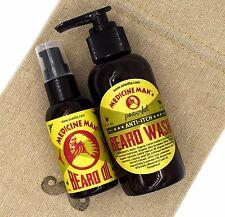 Medicine Man's Anti-Itch Beard Care Kit: Beard Wash and Beard Oil