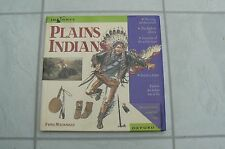 PLAINS INDIANS by FIONA MACDONALD - LOVELY CHILDREN'S BOOK