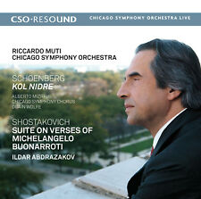 Schoenberg: Kol Nidre, Op. 39 - Shostakovich: Suite on Verses of Michelangelo Bu