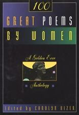 100 Great Poems By Women Book by Carolyn Kizer 1995 Paperback  FREE S/H!