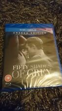 Fifty Shades of Grey: The Unseen Edition [Blu-ray, 2015] New & Sealed