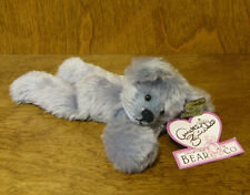 "Annette Funicello Bear #88010 Powder Blue Bear 7"" Head Jointed, From Retail Shop"