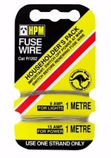 HPM FUSE WIRE 1m 8amp for Lighting and 1m 16amp for Power Ceramic Style- 5pcs